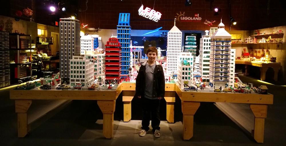 Here's my little Master Builder!