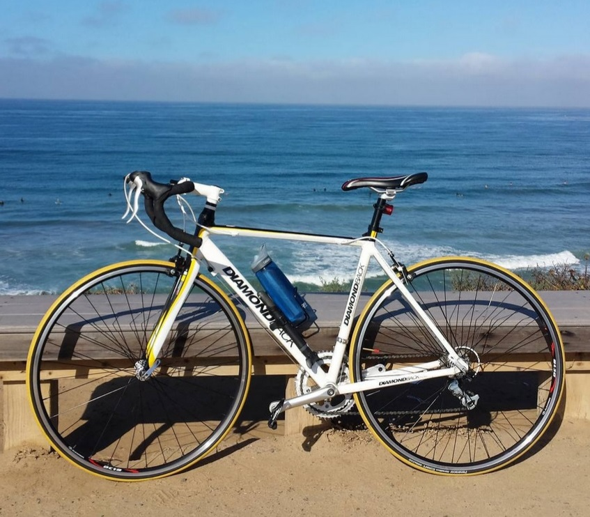 Sugar Jones Diamondback Road Bike at Turnaround Beach.jpg