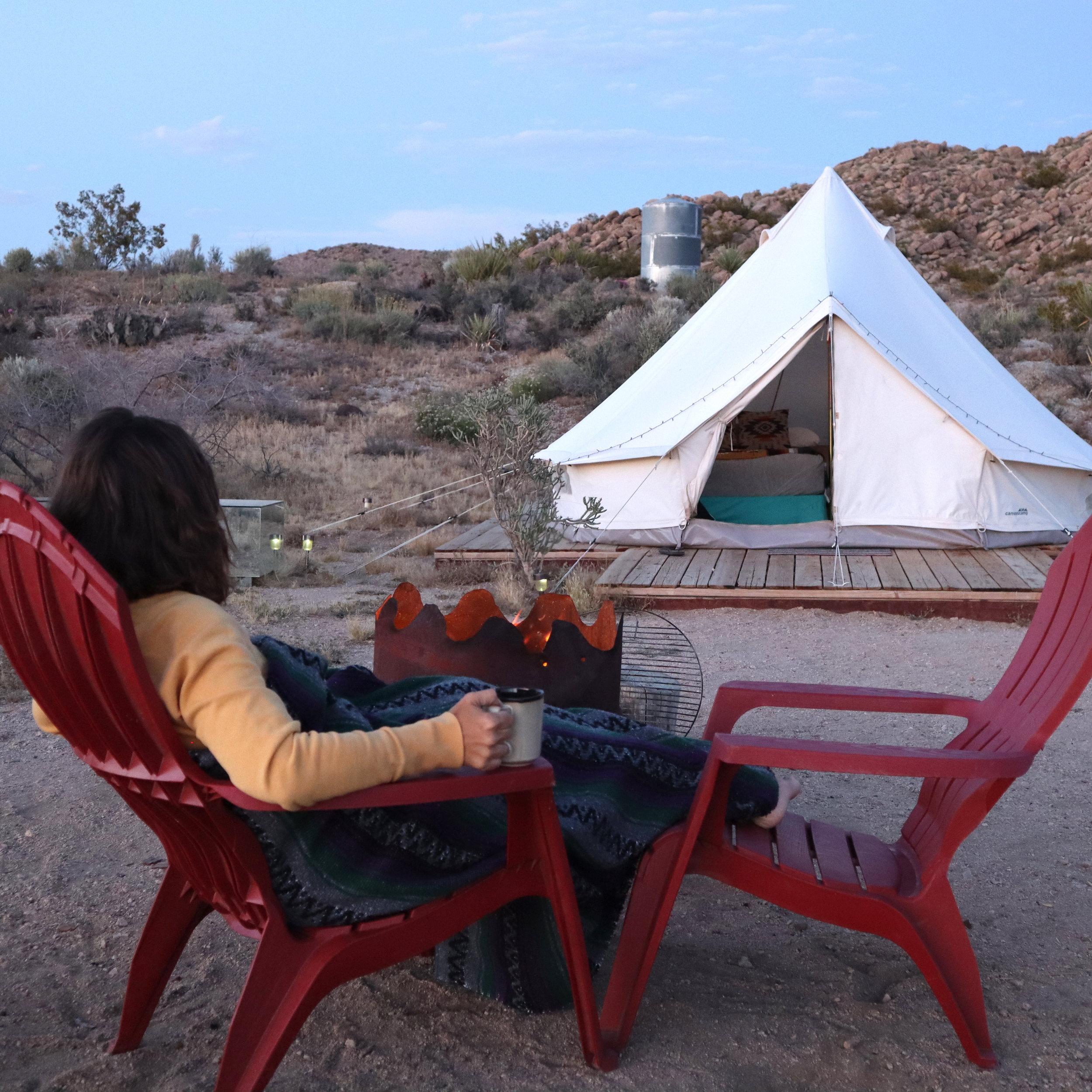 Joshua Tree Glamping Campfire Tea.jpg