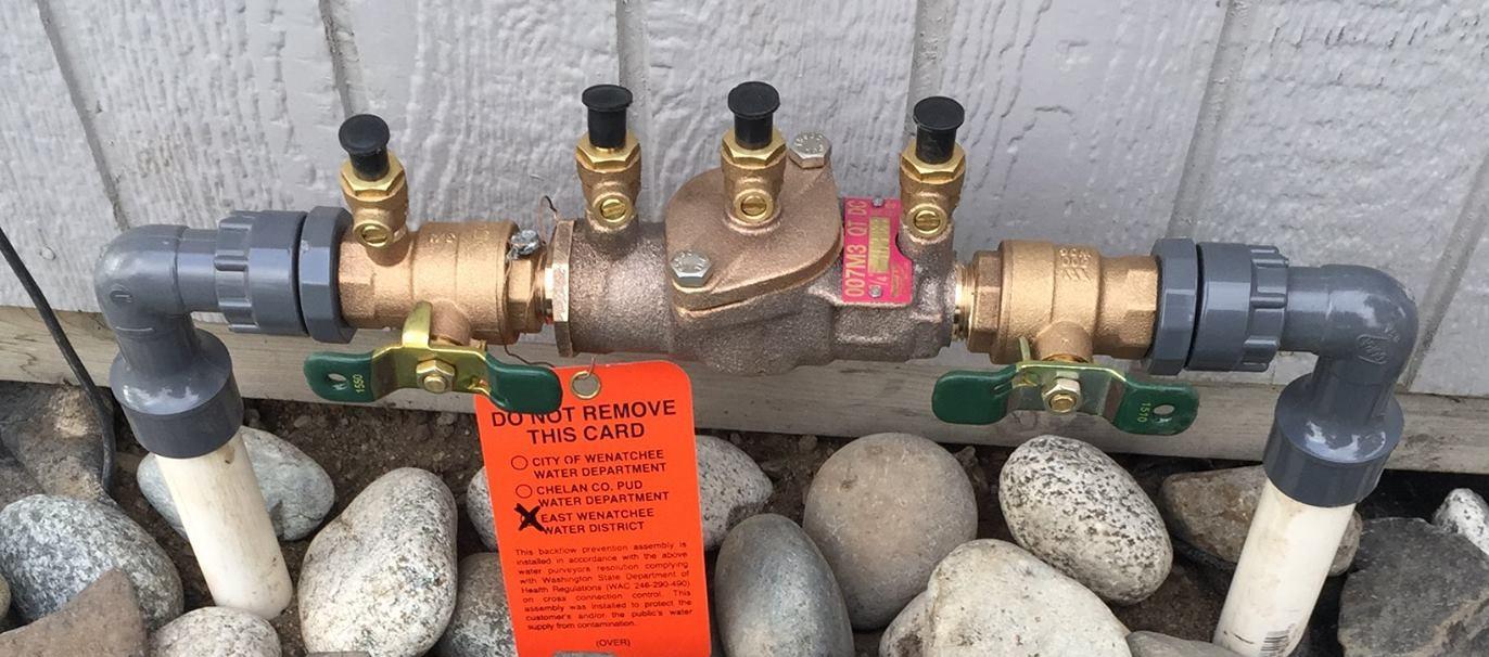 East Wenatchee domestic landscape sprinkler system