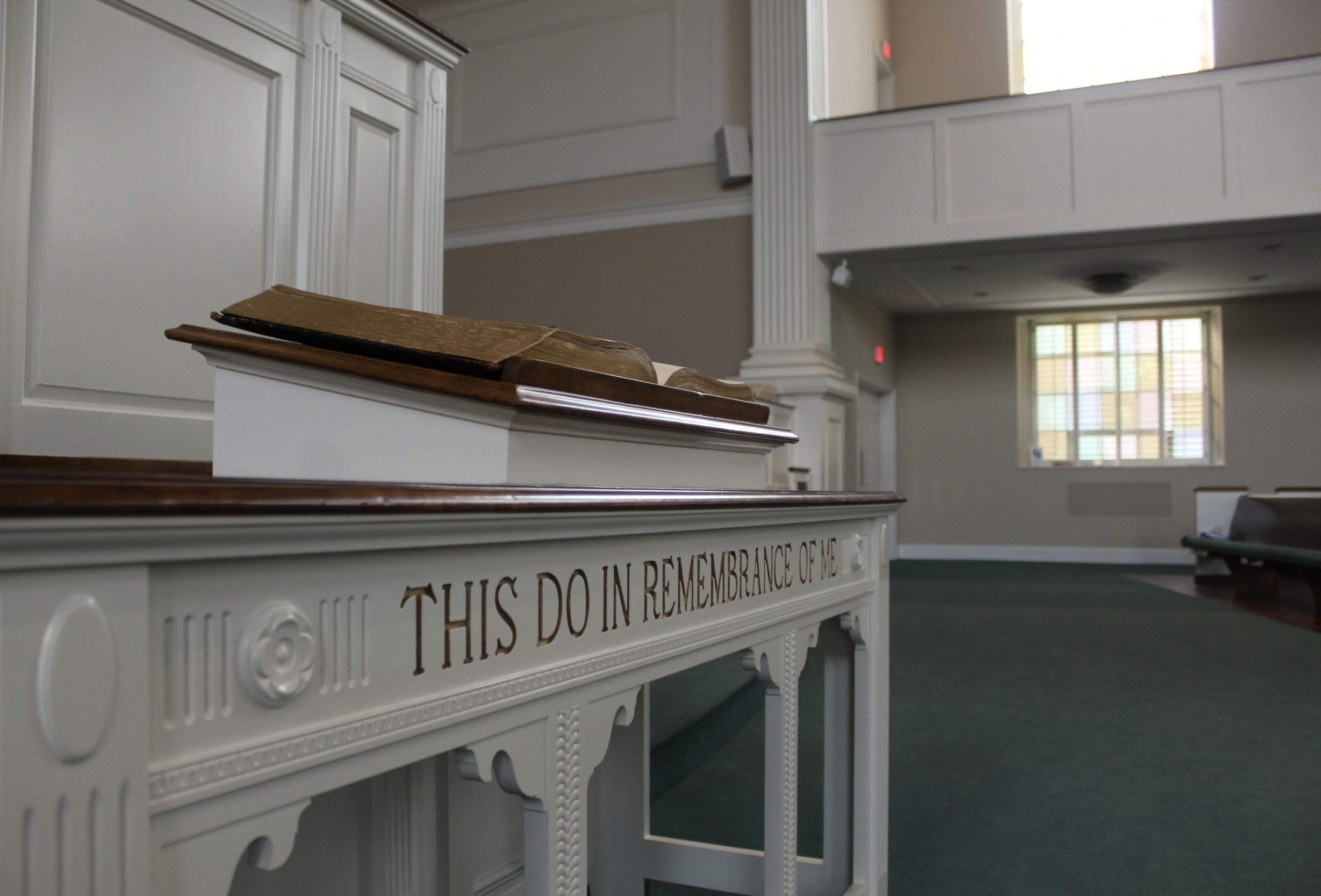 Calvary Bible and table.jpg