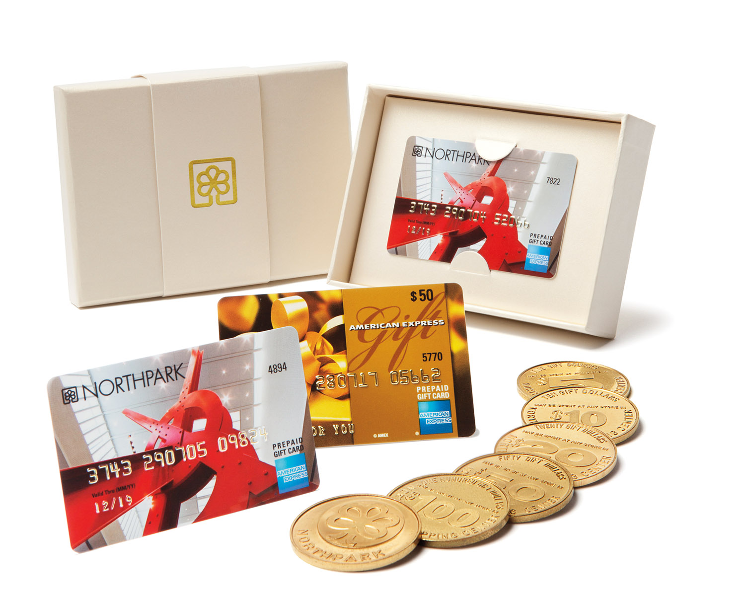 NorthPark Gold Packaging