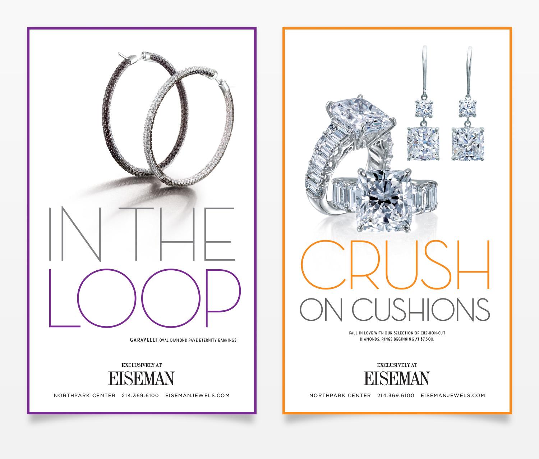 Eiseman Jewels Print Ads