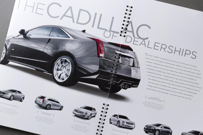 Crest Infiniti Cadillac Marketing Catalog 4