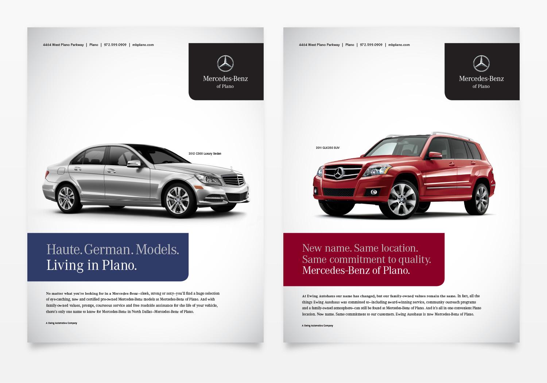Mercedes-Benz of Plano Magazine Ads 1