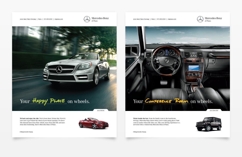 Mercedes-Benz of Plano Magazine Ads 2