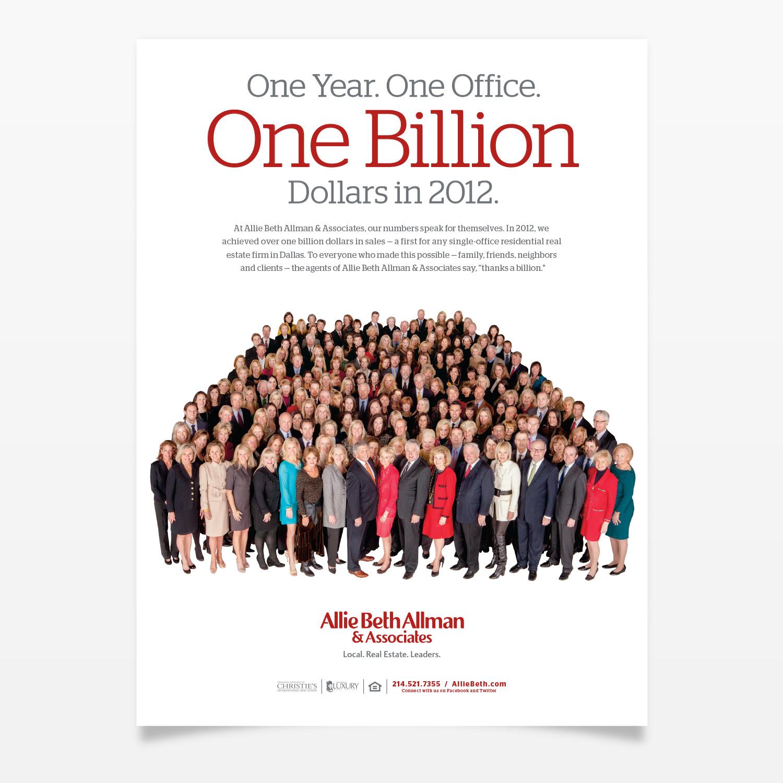 Allie Beth Allman & Associates One Billion Ad