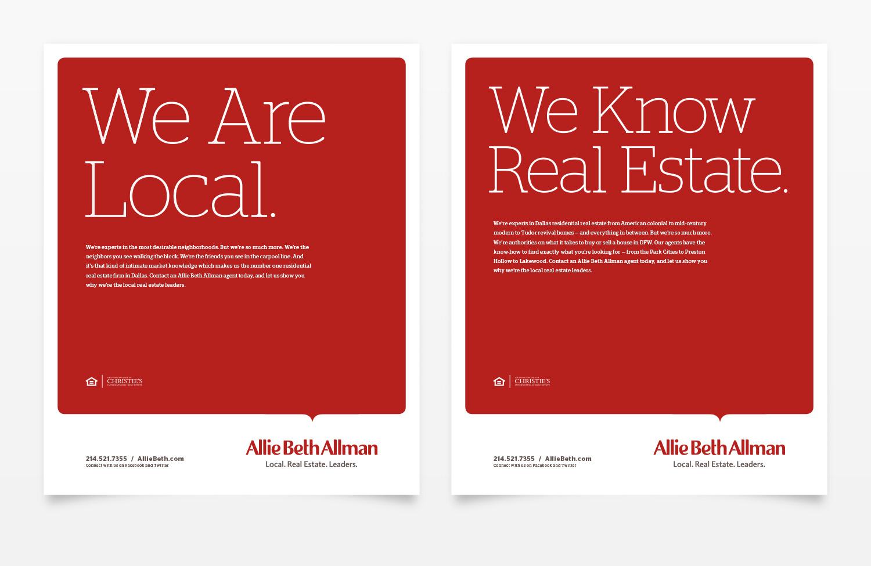 Allie Beth Allman & Associates Magazine Ad