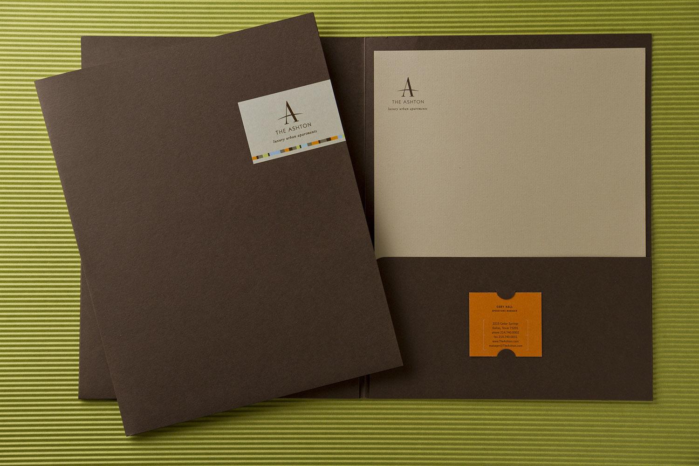 The Ashton Pocket Folder