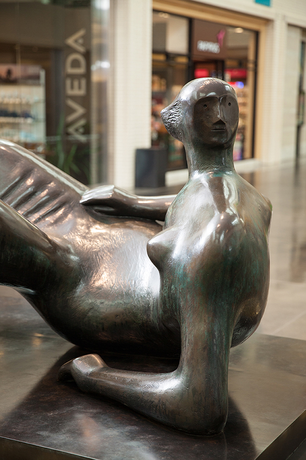 Henry Moore   (British, 1898-1986) Reclining Figure: Angles, 1979 (cast 1980) | Bronze