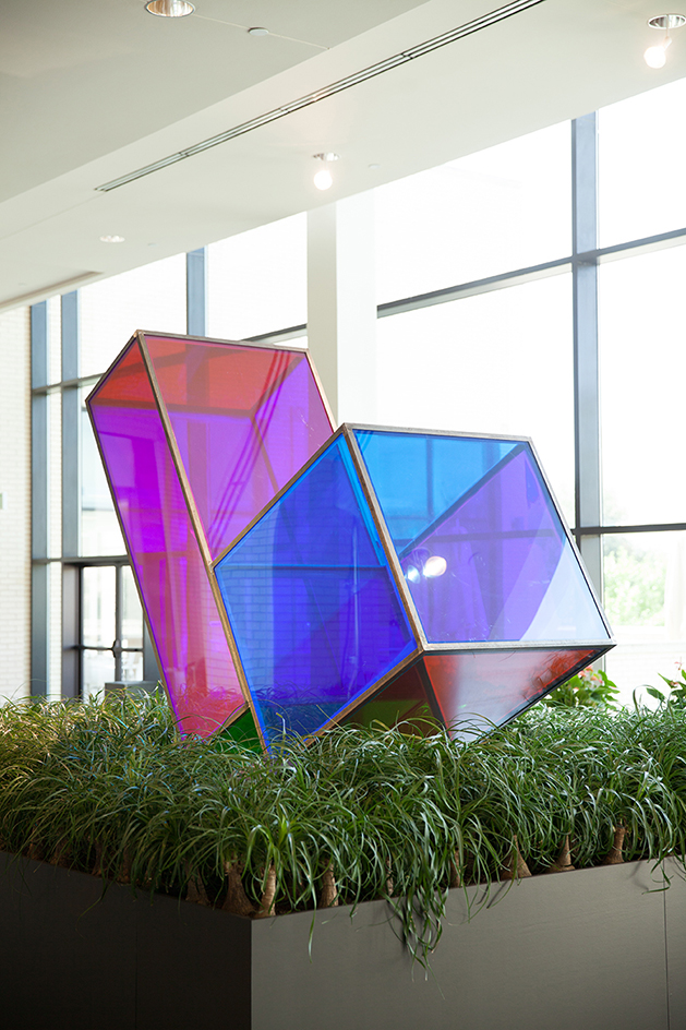 Sarah Braman   (American, born 1970) Near You , 2011 | Plexiglas and steel