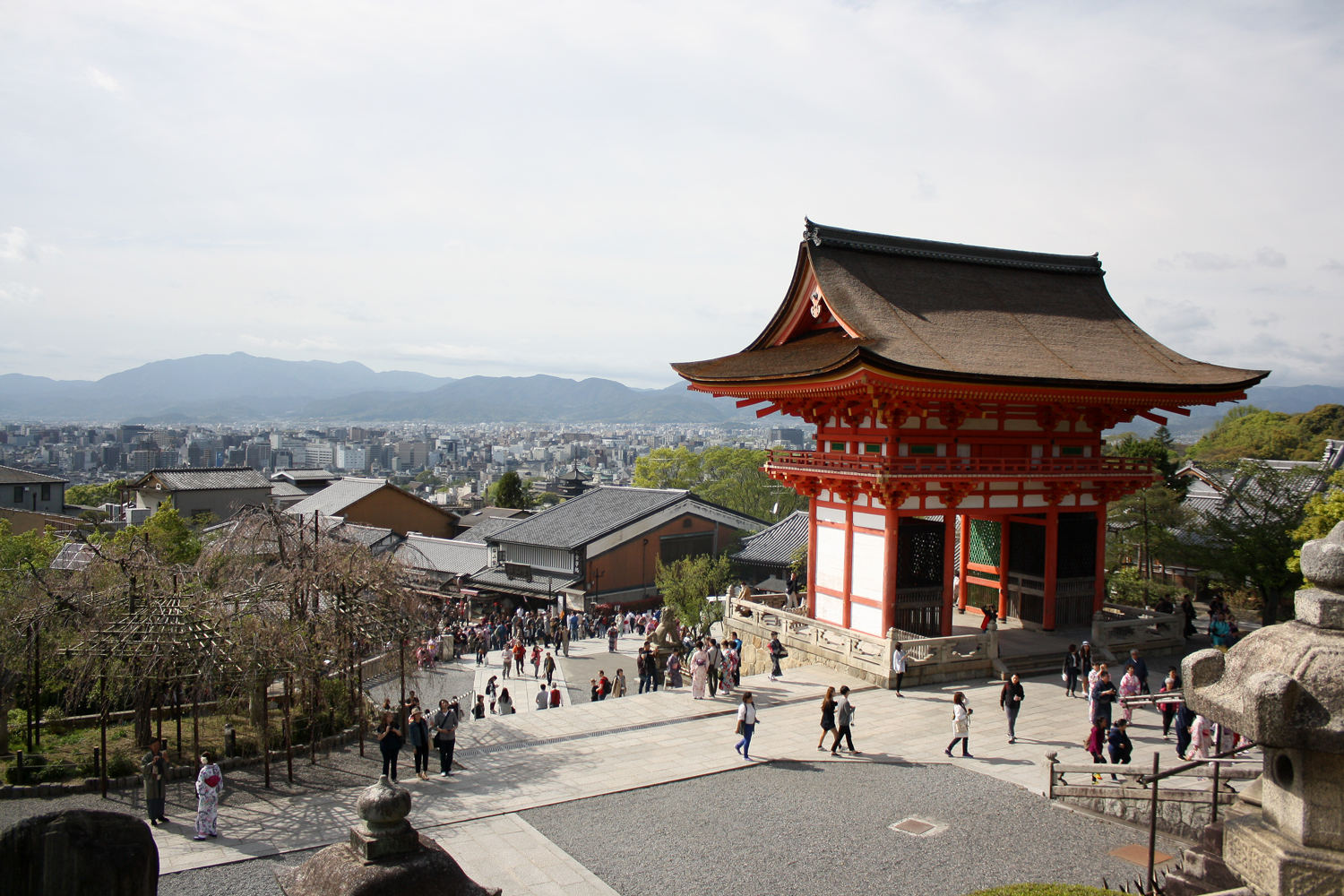 The path to Kiyomizu-dera, Kyoto