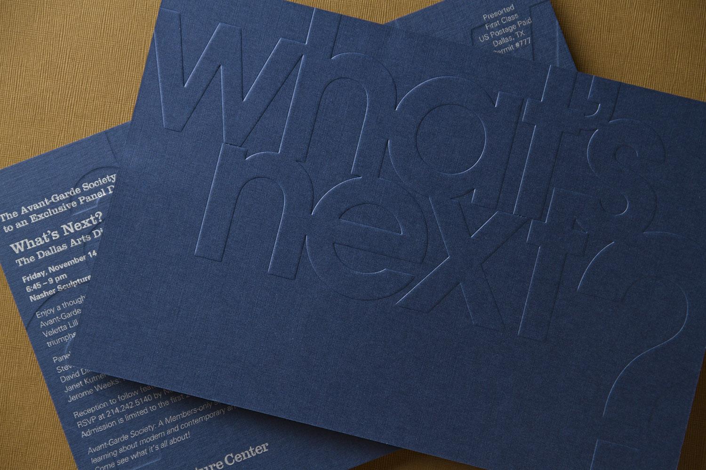 Nasher Sculpture Center Event Invitation