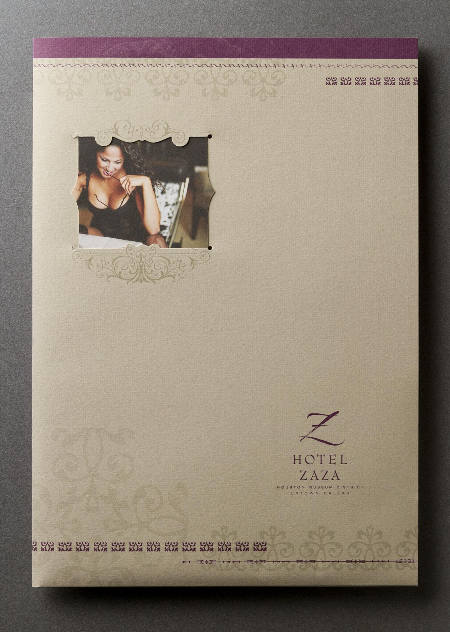 Hotel ZaZa Marketing Kit