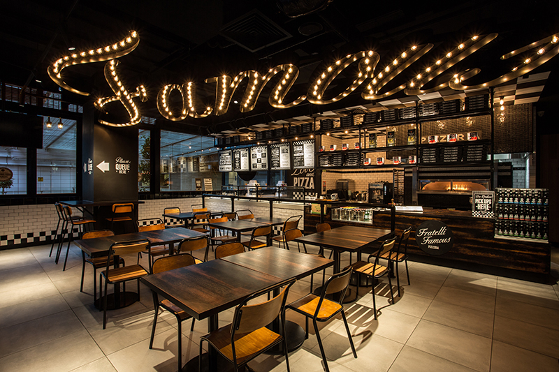 FRATELLI FAMOUS + THE BAVARIAN WORLD SQUARE, SYDNEY: A DUAL CONCEPT