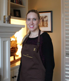 Lindsey Beam   Lindsey is a Director of Client Relations by profession and her favorite chocolate is Valrhona