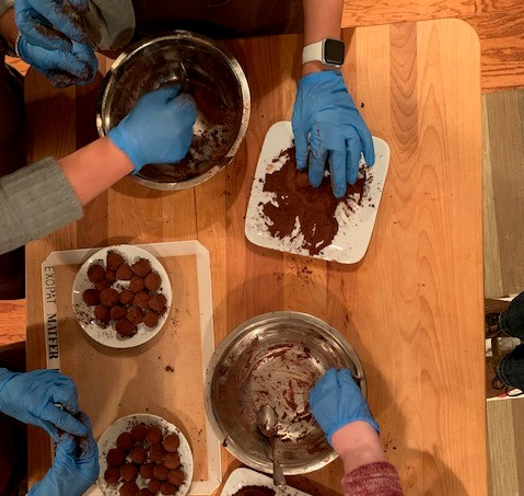 For large groups, small groups, on-site and your location or off-site at a venue of your choice, Dallas Chocolate Classes is a unique experience you'll always remember!