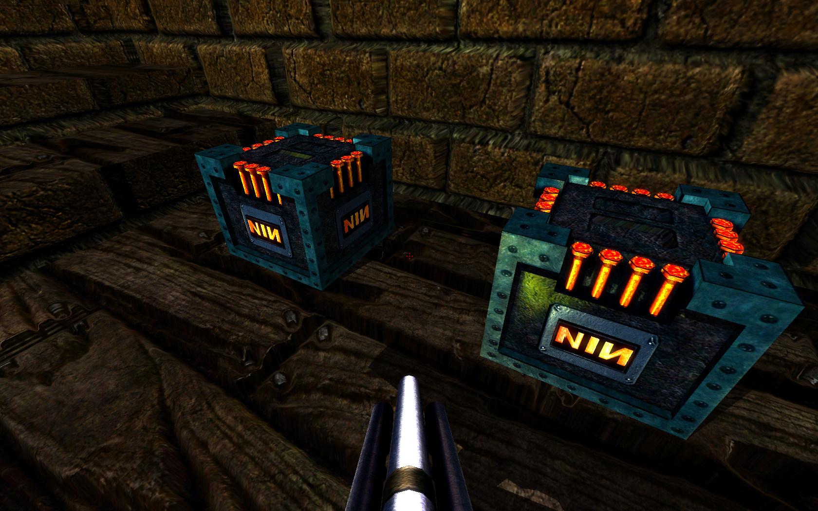 Here's the Quake Nailgun ammo box.