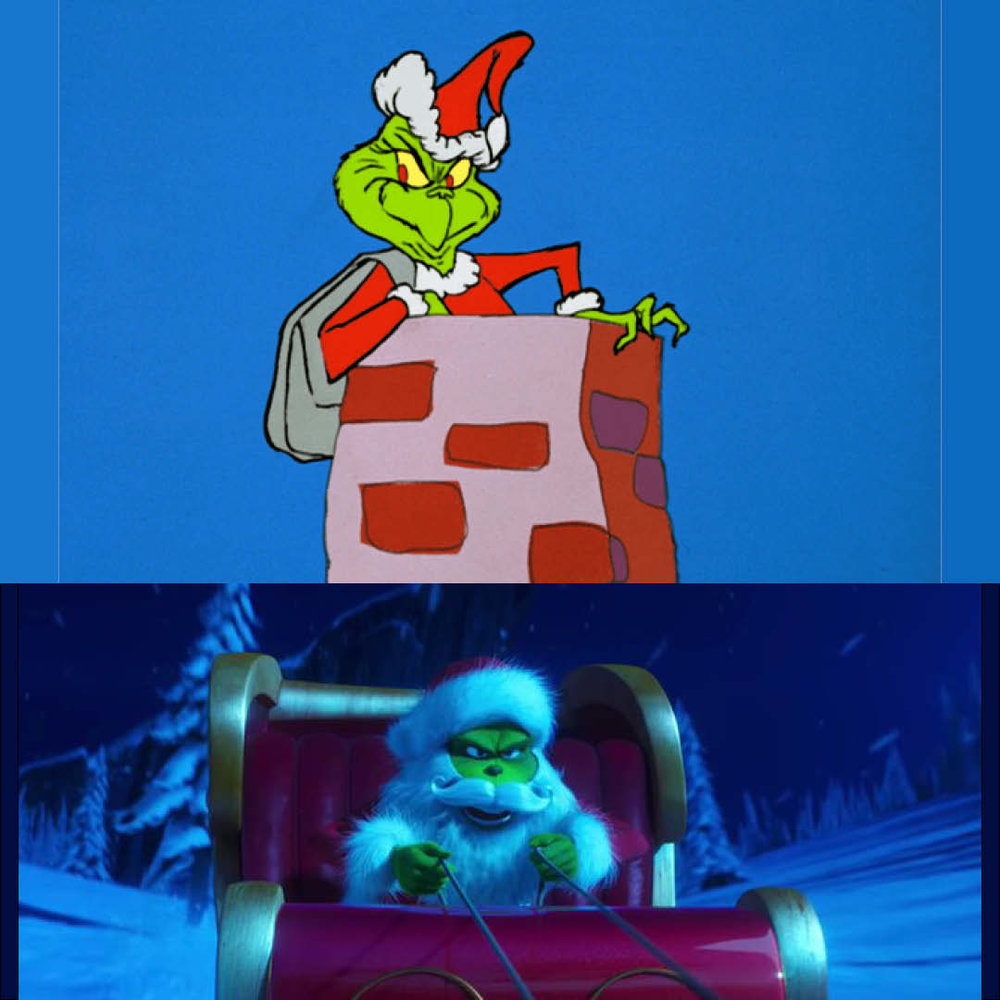 The Grinch Who Stole Christmas Cartoon.020 How The Grinch Stole Christmas 1966 Vs The Grinch