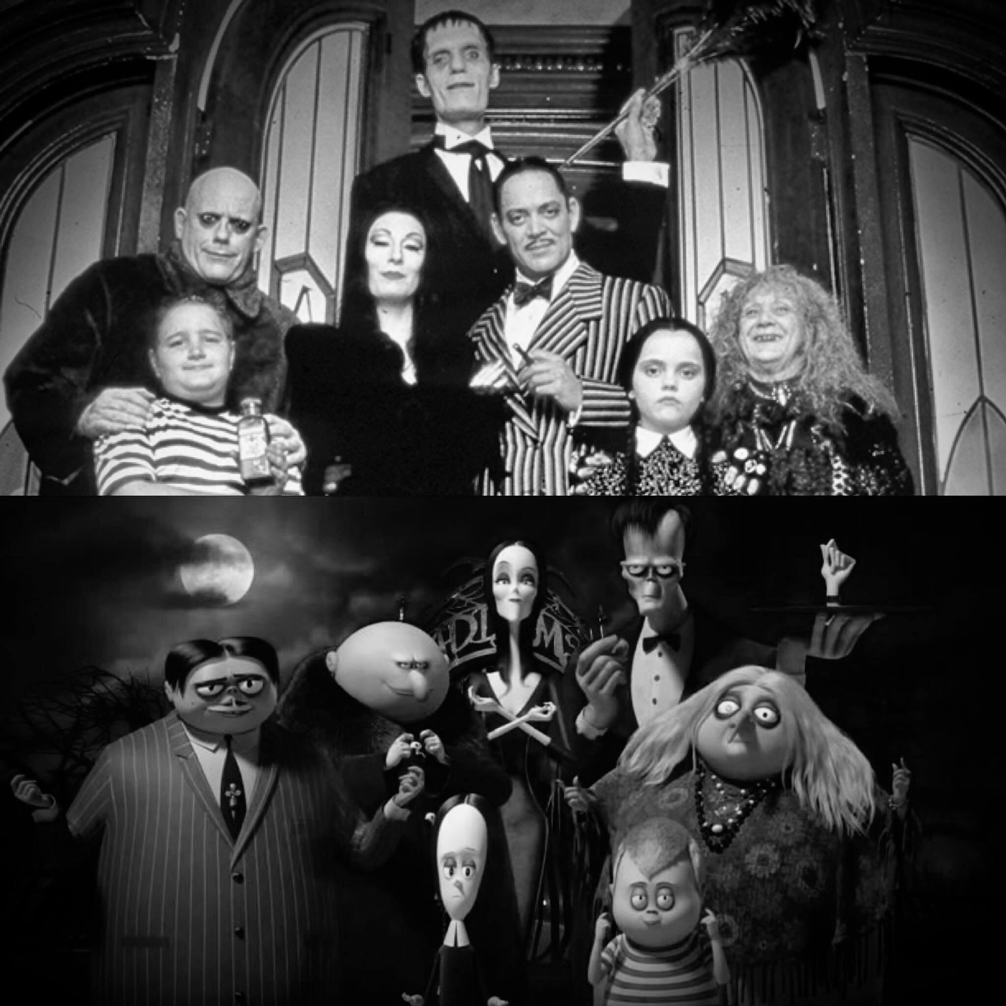 030 The Addams Family 1991 Vs The Addams Family 2019