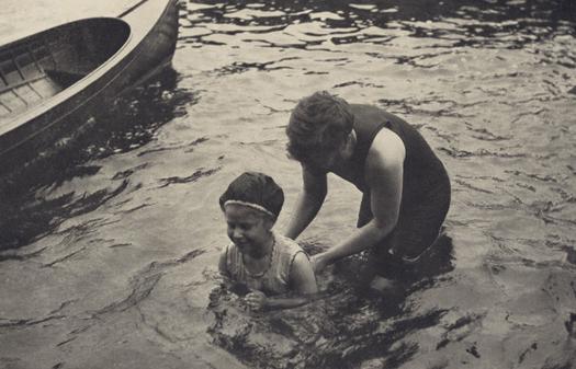Alfred Stieglitz The Swimming Lesson, 1906  8 x 11 inches photogravure