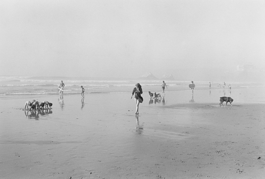 Henry Wessel City Beach, 1976  11 x 14 inches silver print