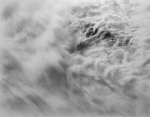 Chip Hooper Surf #1562, 2006  20 x 24 inches silver print