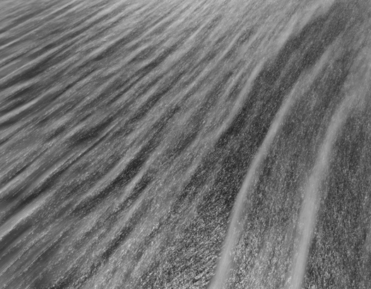 Chip Hooper Surf #1176, 2003  20 x 24 inches silver print