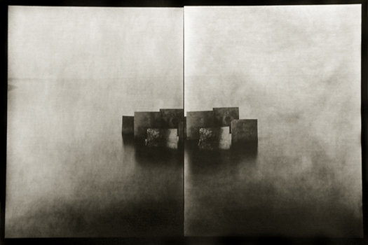 Laurent Millet Cabana #19, 2000  12 x 16 inches toned silver print