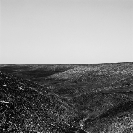 Burn, Flint Hills, 2006 Negative #W10_12_06 from the series  West and West   24 x 24 inches edition of 5 carbon pigment print
