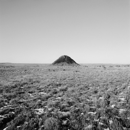 Butte, Colorado Piedmont, 2005 Negative #W38_11_05 from the series  West and West   24 x 24 inches edition of 5 carbon pigment print