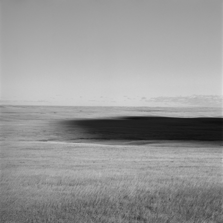Cloud, Missouri Plateau, 2005 Negative #W50_16_05 from the series  West and West   24 x 24 inches edition of 5 carbon pigment print