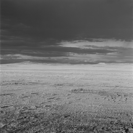 Clearing Storm, Colorado Piedmont, 2006 Negative #W18_3_06 from the series  West and West   24 x 24 inches edition of 5 carbon pigment print