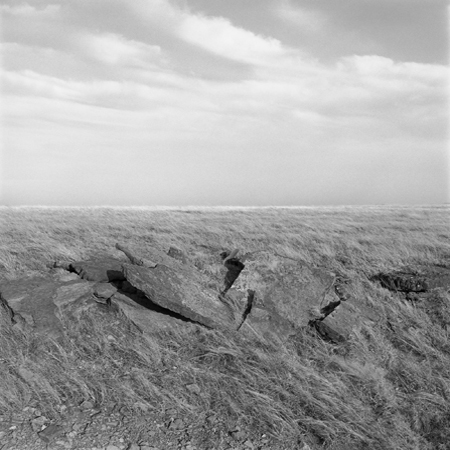 Wind, Osage Cuestas, 2006 Negative #W4_14_06 from the series  West and West   24 x 24 inches edition of 5 carbon pigment print