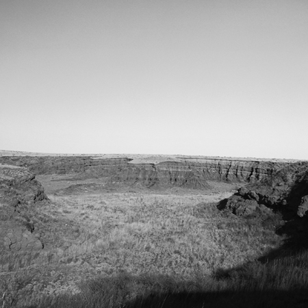 Wash, Red Hills, 2007 Negative #W8_5_07 from the series  West and West   24 x 24 inches edition of 5 carbon pigment print