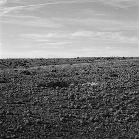 Sinkhole, Pecos Valley, 2005 Negative #W29_7_05 from the series  West and West   24 x 24 inches edition of 5 carbon pigment print