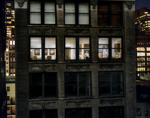 Out My Window, Chelsea, 29th Street, 2008 40 x 50 inches edition of 5 archival pigment print also available in the following size: 20 x 24 inches edition of 10