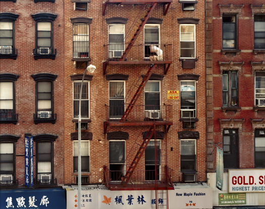 Out My Window, Chinatown, Fire Escape, 2008 40 x 50 inches edition of 5 archival pigment print also available in the following size: 20 x 24 inches edition of 10