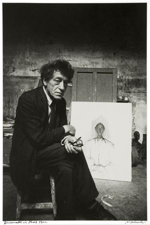 Giacometti in Paris, 1962 14 x 11 inches silver print