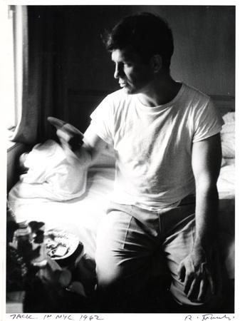 Jack in NYC (Jack Kerouac), 1962 8 x 10 inches vintage silver print