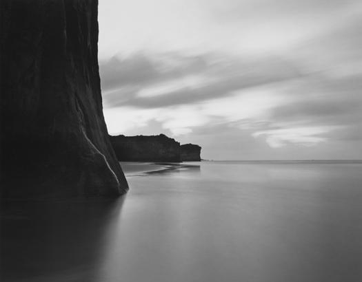 Cape Foulwind Beach, Tasman Sea, 2003 20 x 24 inches (edition of 25) 26 x 32 inches (edition of 10) 44 x 56 inches (edition of 5) silver print