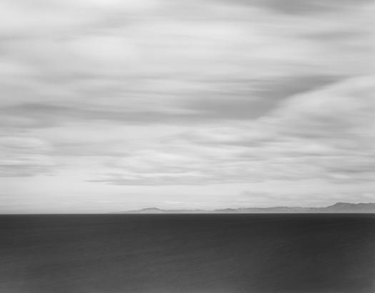 Toward Dunedin, South Pacific, 2003 20 x 24 inches (edition of 25) 26 x 32 inches (edition of 10) 44 x 56 inches (edition of 5) silver print