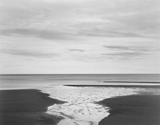 Creek, Tasman Sea, 2003 20 x 24 inches (edition of 25) 26 x 32 inches (edition of 10) 44 x 56 inches (edition of 5) silver print