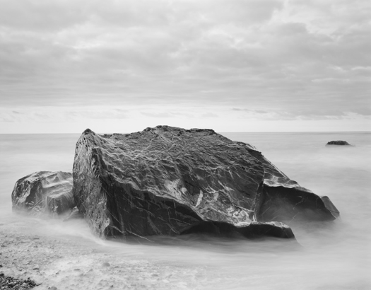 Okarito Beach, Tasman Sea, 2003 20 x 24 inches (edition of 25) 26 x 32 inches (edition of 10) 44 x 56 inches (edition of 5) silver print