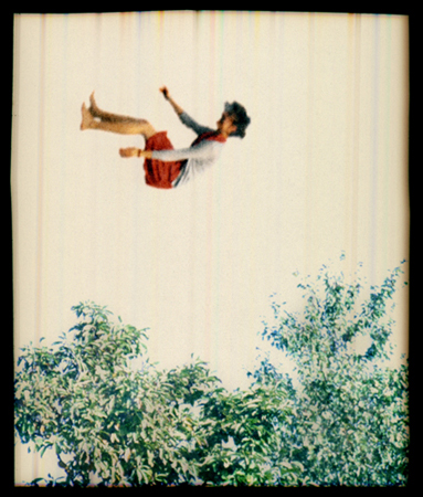 Falling in Trees 1, 2006 14 x 12 inches archival pigment print
