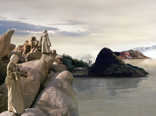 Mary Mattingly The Expedition, 2007 35 x 42 inches edition of 5 chromogenic dye coupler print mounted to dibond aluminum