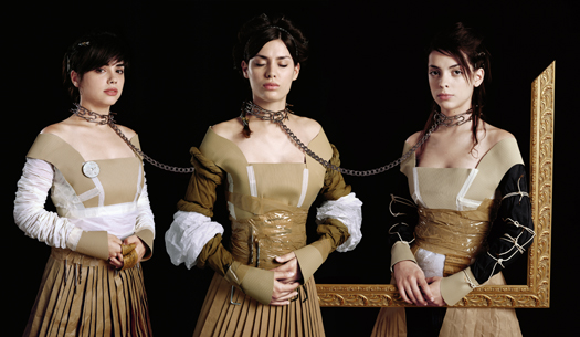 res (in collaboration with Constanza Piaggio) Hermanas, 2007 from the series  Conatus  51.25 x 29.5 inches edition of 10 lambda print