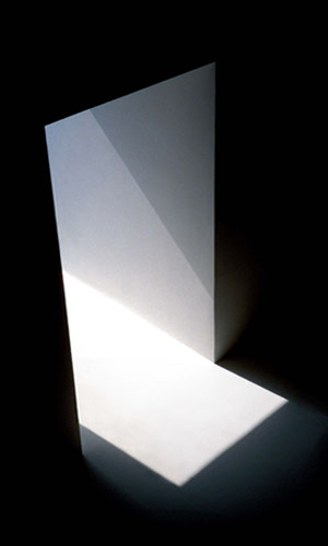 Skylight 3, 2002 87 x 47 inches edition of 10 chromogenic dye coupler print back and front mounted to plexiglass