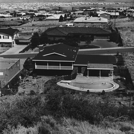 Albuquerque, New Mexico, 1975 (#A13:374) 12.75 x 12.75 inches vintage silver print