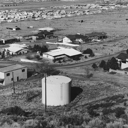 Albuquerque, New Mexico, 1974 (#A1:1174) 12.75 x 12.75 inches vintage silver print